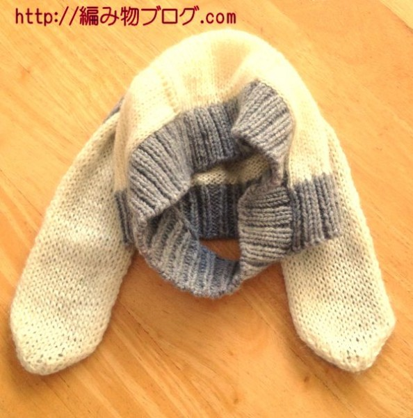 【Twitter限定プレゼント企画】垂れうさ耳付きニット帽
